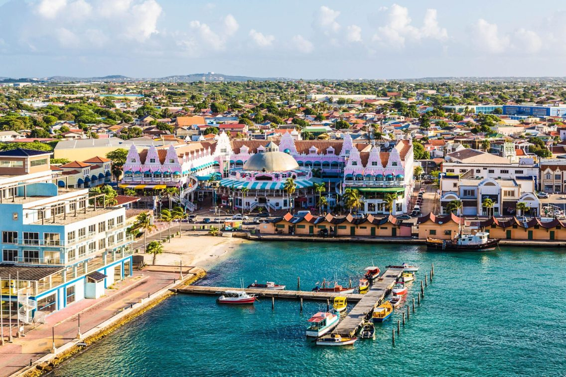 The capital of Aruba is the city of Oranjestad