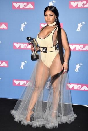 Nicki Minaj naked body