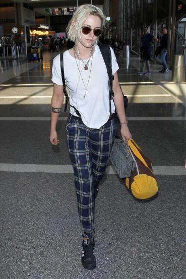 Kristen Stewart in Grunge style