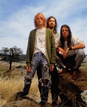 Grunge style Nirvana