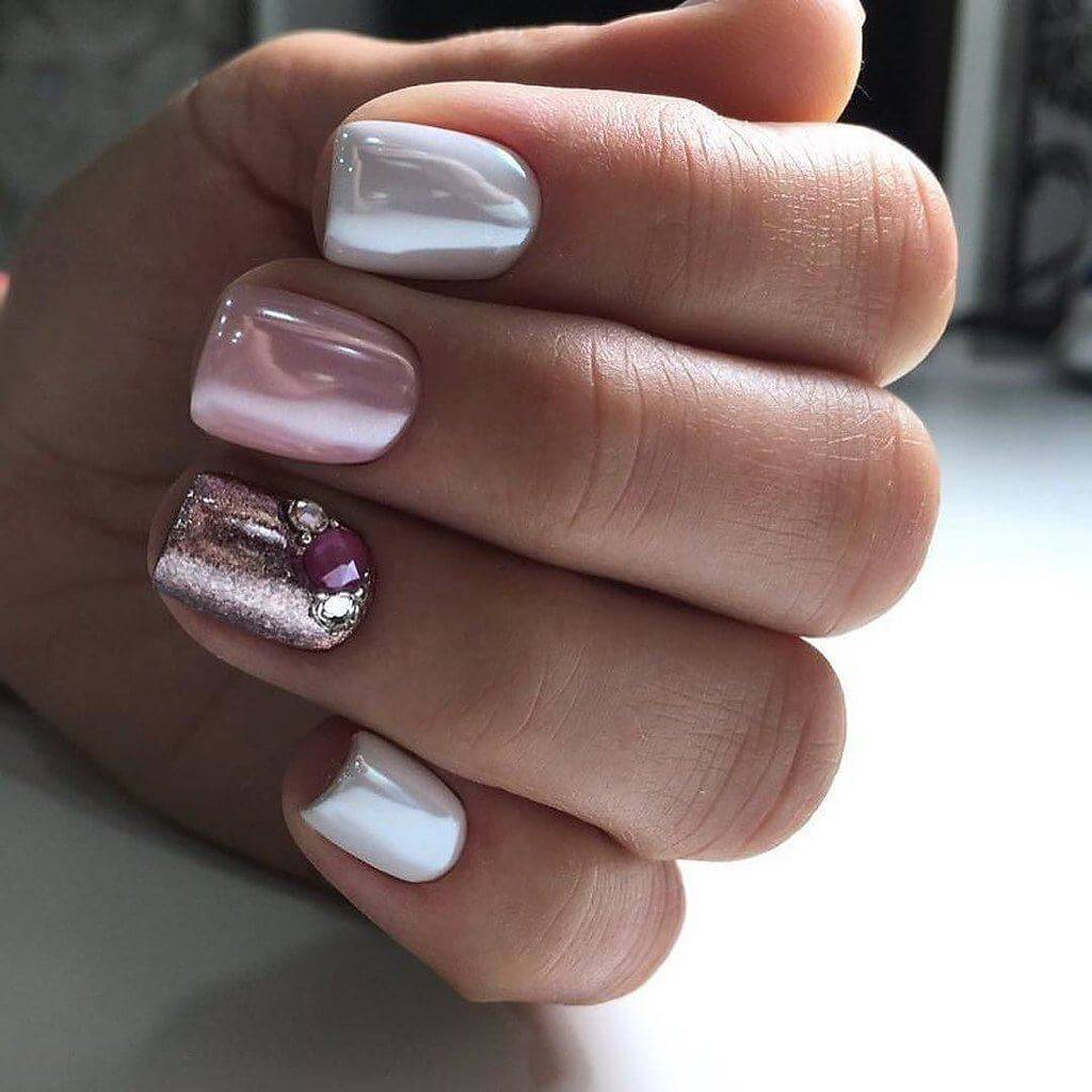 New Year's Manicure for Teens