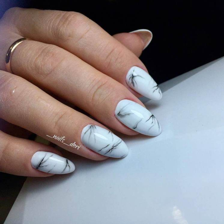 Office marble manicure