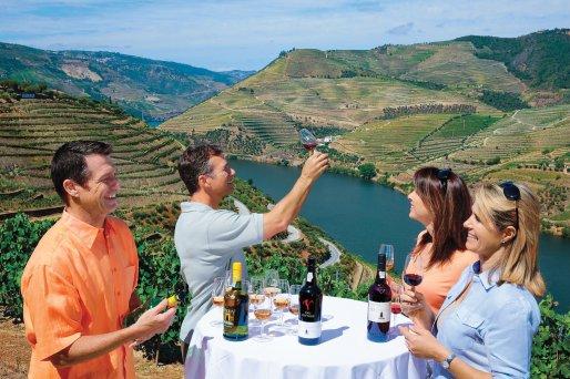 AmaWaterways | Sandeman Wine Tasting