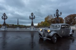 LuxeGetaways - Luxury Travel - Luxury Travel Magazine - Luxe Getaways - Luxury Lifestyle - Digital Travel Magazine - Travel Magazine - A Weekend in the Marais Area of Paris - Jules and Jim - France - Hotel Citroen Traction 1938 - Bridge in Paris
