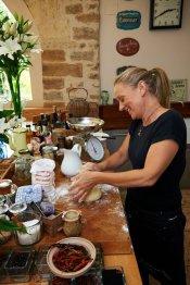 LuxeGetaways | Courtesy La Ferme de la Lochere - Chef-Katherine-Frelon
