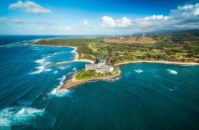 LuxeGetaways | Courtesy Turtle Bay - Aerial