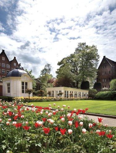 LuxeGetaways | Courtesy Waldorf Astoria Amsterdam - Garden