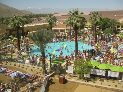 LuxeGetaways | Photography Courtesy Palm Springs Tourism - Pool Party