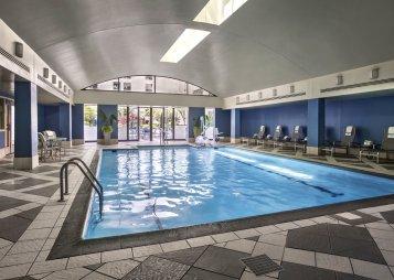 LuxeGetaways - Luxury Travel - Luxury Travel Magazine - Luxe Getaways - Luxury Lifestyle - Marriott Rewards - MRpoints - Damon Banks - JW Marriott DC - Indoor Pool