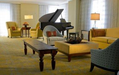 LuxeGetaways - Luxury Travel - Luxury Travel Magazine - Luxe Getaways - Luxury Lifestyle - Marriott Rewards - MRpoints - Damon Banks - JW Marriott DC - Presidential Suite - Grand Piano - Living Room