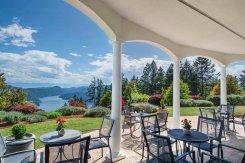 LuxeGetaways - Luxury Travel - Luxury Travel Magazine - Luxe Getaways - Luxury Lifestyle - Canada Luxury Resort - Villa Eyrie - Outside Patio - Vancouver Island