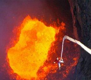 LuxeGetaways - Luxury Travel - Luxury Travel Magazine - 10 Extreme Adventure Travel Experiences - Extreme Travel - Volcano Diving