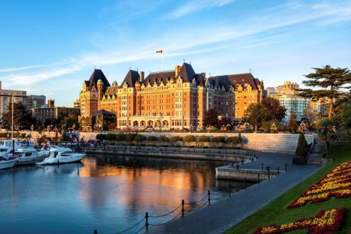 LuxeGetaways - Luxury Travel - Luxury Travel Magazine - New Era at Fairmont Empress - Victoria Canada - Fairmont Hotels and Resorts - Damon M Banks - Exterior - Marina