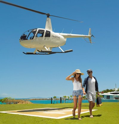 LuxeGetaways - Luxury Travel - Luxury Travel Magazine - Best of Australia - One&Only - One and Only Resorts - Helicopter