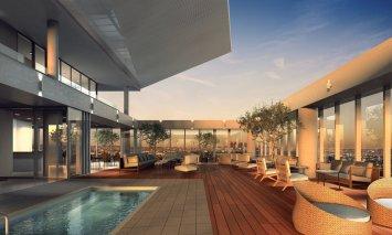 LuxeGetaways - Luxury Travel - Luxury Travel Magazine - New Hotels - The James Hotel West Hollywood - Sky Bar
