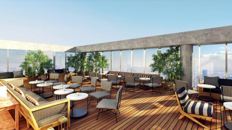 LuxeGetaways - Luxury Travel - Luxury Travel Magazine - New Hotels - The James Hotel West Hollywood - patio