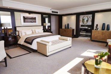 LuxeGetaways - Luxury Travel - Luxury Travel Magazine - Geneva City Guide - Geneva Switzerland - Swiss Tourism - Kempinski Geneva - Bella Vista - bedroom