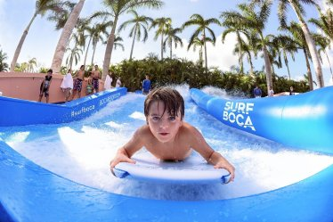 LuxeGetaways - Luxury Travel - Luxury Travel Magazine - The Boca Raton Resort by Waldorf Astoria - Flowrider