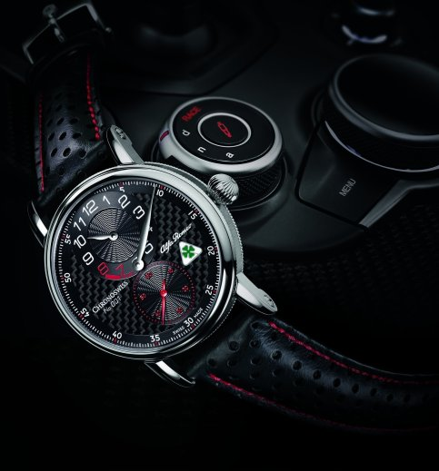 LuxeGetaways - Luxury Travel - Luxury Travel Magazine - Introducing the Chronoswiss Regulator Alfa Romeo Quadrifoglio Edition