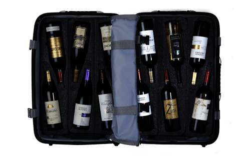 LuxeGetaways - Luxury Travel - Luxury Travel Magazine - wine travel bags - VinGardeValise