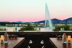 LuxeGetaways - Luxury Travel - Luxury Travel Magazine - Geneva City Guide - Geneva Switzerland - Swiss Tourism - Kempinski Geneva - Lake Geneva Fountain