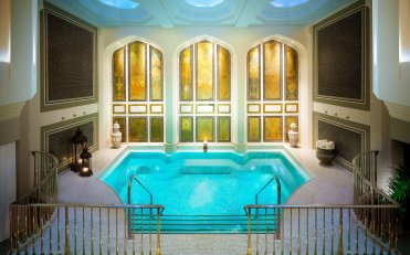 LuxeGetaways - Luxury Travel - Luxury Travel Magazine - Eric Hrubant of CIRE Travel Explores Wellness Travel Options | LuxeGetaways - Mineral Pool - Spa