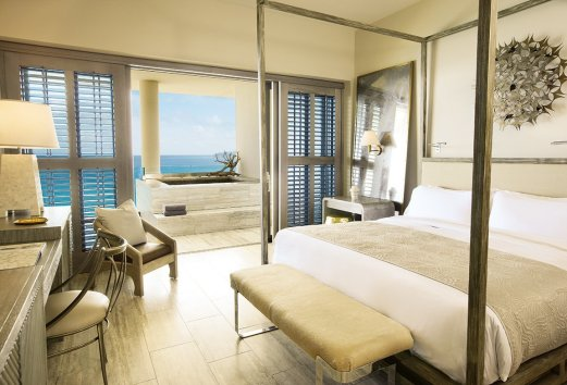 LuxeGetaways - Luxury Travel - Luxury Travel Magazine - Four Seasons Anguilla - Private Residence - luxury real estate - Guest room