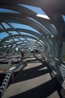 LuxeGetaways - Luxury Travel - Luxury Travel Magazine - Geneva City Guide - Geneva Switzerland - Swiss Tourism - walking bridge - Pont Wilsdorf
