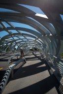 LuxeGetaways - Luxury Travel - Luxury Travel Magazine - Geneva City Guide - Geneva Switzerland - Swiss Tourism - walking bridge - Pont Wilsdorf