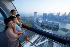 LuxeGetaways - Luxury Travel - Luxury Travel Magazine - Katie Dillon - LaJolla Mom - Family Travel - Singapore - Singapore Flyer