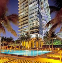 LuxeGetaways - Luxury Travel - Luxury Travel Magazine - W Hotel South Beach - e-wow penthouse - luxury penthouse suite - south beach florida - pool - exterior