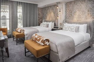 LuxeGetaways - Luxury Travel - Luxury Travel Magazine - Luxe Getaways - Luxury Lifestyle - The Ivey's Hotel Charlotte - North Carolina - Iveys Hotel - Double Room