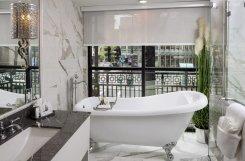 LuxeGetaways - Luxury Travel - Luxury Travel Magazine - Luxe Getaways - Luxury Lifestyle - The Ivey's Hotel Charlotte - North Carolina - Iveys Hotel - Balcony Suite Bathroom - Luxury Boutique Hotel