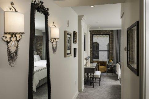 LuxeGetaways - Luxury Travel - Luxury Travel Magazine - Luxe Getaways - Luxury Lifestyle - The Ivey's Hotel Charlotte - North Carolina - Iveys Hotel - City View Room