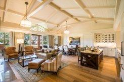 LuxeGetaways - Luxury Travel - Luxury Travel Magazine - Luxe Getaways - Luxury Lifestyle - Pebble Beach Resorts - Fairway One - California - Luxury Golf Resort - cottage living room