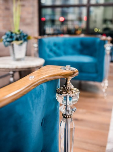 LuxeGetaways - Luxury Travel - Luxury Travel Magazine - Luxe Getaways - Luxury Lifestyle - The Ivey's Hotel Charlotte - North Carolina - Iveys Hotel - Lobby Furniture