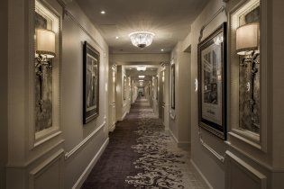 LuxeGetaways - Luxury Travel - Luxury Travel Magazine - Luxe Getaways - Luxury Lifestyle - The Ivey's Hotel Charlotte - North Carolina - Iveys Hotel - Guest Room Hallway