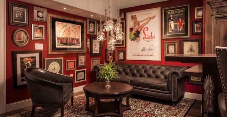 LuxeGetaways - Luxury Travel - Luxury Travel Magazine - Luxe Getaways - Luxury Lifestyle - The Iveys Hotel Charlotte - Charlotte Boutique Hotel - Library Lounge