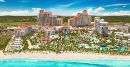 LuxeGetaways - 25 Poolside Experiences - Luxury Hotel Pools - Grand Hyatt Baha Mar