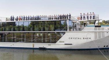 LuxeGetaways - Luxury Travel - Luxury Travel Magazine - Luxe Getaways - Luxury Lifestyle - Luxury Villa Rentals - Affluent Travel - Crystal Cruises - Christening of Crystal Bach - Germany - River Cruise