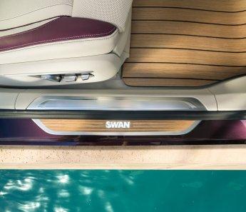 LuxeGetaways - Luxury Travel - Luxury Travel Magazine - Luxe Getaways - Luxury Lifestyle - BMW - BMW Individual - Luxury Cars - Luxury Auto - Nautor's Swan - BMW M760 - sailing yacht inlay