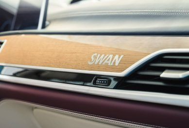 LuxeGetaways - Luxury Travel - Luxury Travel Magazine - Luxe Getaways - Luxury Lifestyle - BMW - BMW Individual - Luxury Cars - Luxury Auto - Nautor's Swan - BMW M760 - teak inlay
