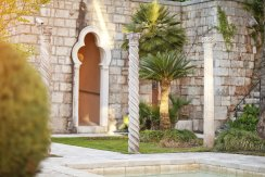 LuxeGetaways - Luxury Travel - Luxury Travel Magazine - Luxe Getaways - Luxury Lifestyle - Luxury Villa Rentals - Villas with Forever Views - Luxe Villas - Luxury Rentals - Croatia - Villa Sheherezade - Dubrovnik - Garden