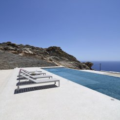 LuxeGetaways - Luxury Travel - Luxury Travel Magazine - Luxe Getaways - Luxury Lifestyle - Luxury Villa Rentals - Villas with Forever Views - Luxe Villas - Luxury Rentals - Greece - Aetos - Mylopotas - Island of Ios - Cyclades - Lounge Chairs