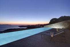 LuxeGetaways - Luxury Travel - Luxury Travel Magazine - Luxe Getaways - Luxury Lifestyle - Luxury Villa Rentals - Villas with Forever Views - Luxe Villas - Luxury Rentals - Greece - Aetos - Mylopotas - Island of Ios - Cyclades - Pool at Sunset