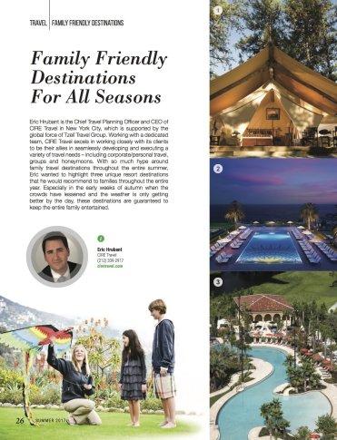LuxeGetaways - Luxury Travel - Luxury Travel Magazine - Luxe Getaways - Luxury Lifestyle - Family Travel - Family Hotels - CIRE Travel - Tzell Travel