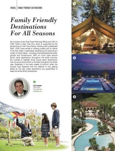 LuxeGetaways - Luxury Travel - Luxury Travel Magazine - Luxe Getaways - Luxury Lifestyle - Family Travel - Family Hotels - CIRE Travel - Tzell Travel