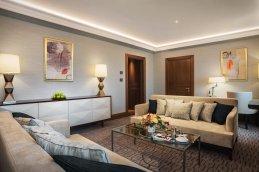 LuxeGetaways - Luxury Travel - Luxury Travel Magazine - Luxe Getaways - Luxury Lifestyle - Grand Hotel Kempinski Riga - Kempinski - Deluxe Suite Living Room