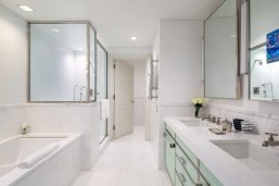 LuxeGetaways - Luxury Travel - Luxury Travel Magazine - Luxe Getaways - Luxury Lifestyle - The Mark Hotel New York City - Five Bedroom Terrace Suite - Madison Avenue - Luxury Hotel - NYC - Bathroom