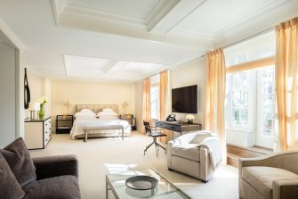 LuxeGetaways - Luxury Travel - Luxury Travel Magazine - Luxe Getaways - Luxury Lifestyle - The Mark Hotel New York City - Five Bedroom Terrace Suite - Madison Avenue - Luxury Hotel - NYC - Living Room